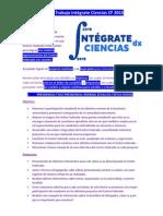 Plan de Trabajo Intégrate Ciencias 2015