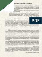 Marco Teórico y Metodología de Investigación