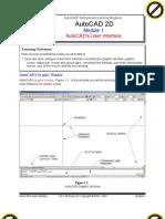 Autocad 2d Module 01 PDF