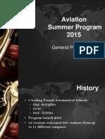 Aviation Summer Program 2015