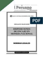 Separata Especial 2 Normas Legales 01-11-2014 [TodoDocumentos.info]