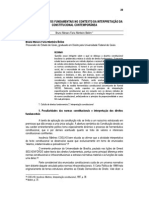 Bruno Belem - Colisão de Direitos Fundamentais No Contexto Da Interpretação Da Constitucional Contemporânea