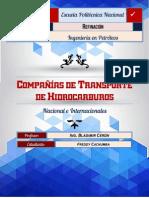 Compañías-Transporte de Hidrocarburos
