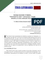 Elías David Curiel, precursor del Modernismo en Venezuela