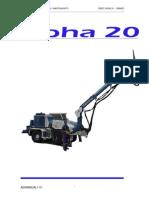Manual Alpha 20