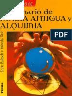 elgrandiccionariodemagiaantiguayalquimiaenricbalachyyolandaruiz-140302170324-phpapp02