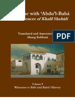 A Lifetime with Abdul-Baha