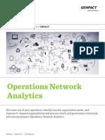 Operations Network Analytics Genpact
