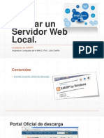 Instalar Un Servidor Web Local