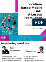 Cirius Location-Based Mobile Ad - A Lesson From Japan Presentation (Oct 08)