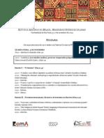 Estudos Andinos No Brasil- Seminário Interdisciplinar. de 5 a 7 de Novembro 2014
