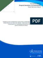 Desarrollo de Un Esquema de Incentivos o Compensaciones Por Servicios Ambientales-golfo de Tribugá-riscales-quinto Informe