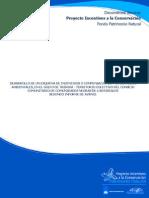 Desarrollo de Un Esquema de Incentivos o Compensaciones Por Servicios Ambientales-golfo de Tribugá-riscales-segundo Informe