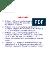 Exercises LC 3