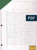 Mohammed Hamzah Khan letter