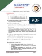 Bases I Torneo Escolar - Escuela de Ajedrez Chiclayo