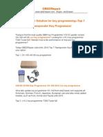 OBD2 Repair Solution for Key Programming-Top 7 Transponder Key Programmer