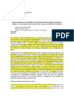 2014...de Los Suburbios y Los Arrabales a Las n Uevas Periferias Urbanas en América Latina.d Oc