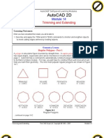 Autocad 2d Module 14 PDF
