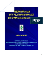 PMPK - Program Mutu - CD