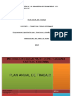 Plan Anual de Trabajo 2015