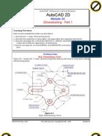 Autocad 2d Module 34 PDF