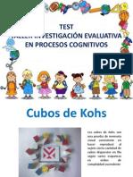 Test Cubos Kohs