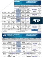 BIO CEO 2014 Program Schedule