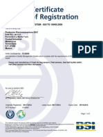 Certificado Ts 16949