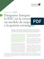 C03 Patagonia Integrar La RSC en La Creación de Un Modelo de Negocio y La Gestión Estratégica