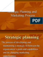 Strategic Planning and Marketing Process - Marketing lecture