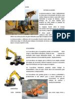 Maquinaria Para Excavacion