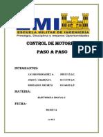 Informe Motor Paso a Paso