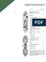 Borneo Research Bulletin (Vol. 15, No. 2) September 1983