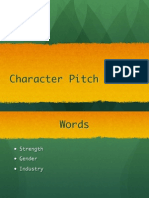 character Pitch