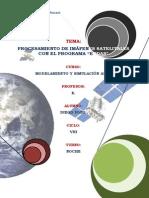Procesamiento de imagenes satelitales
