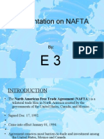 Presentation on NAFTA