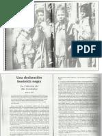 Manifiesto Rio Combahee Una Declaracion Negra Feminista-1977