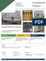 IMP Corporation Success Stories - 16MW Baseload Utility Power Plant