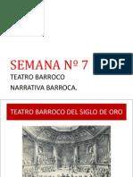 teatro barroco y narrativo