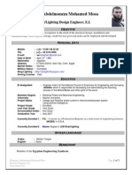Electrical/Lighting Design Engineer-CV