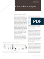 Artikel Managing Demand for Spare Parts Mmm