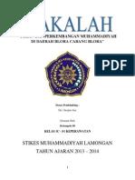 Peran Dan Perkembangan Muhammadiyah Di Daerah Blora Cabang Blora