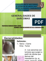 Sarcomas Onco