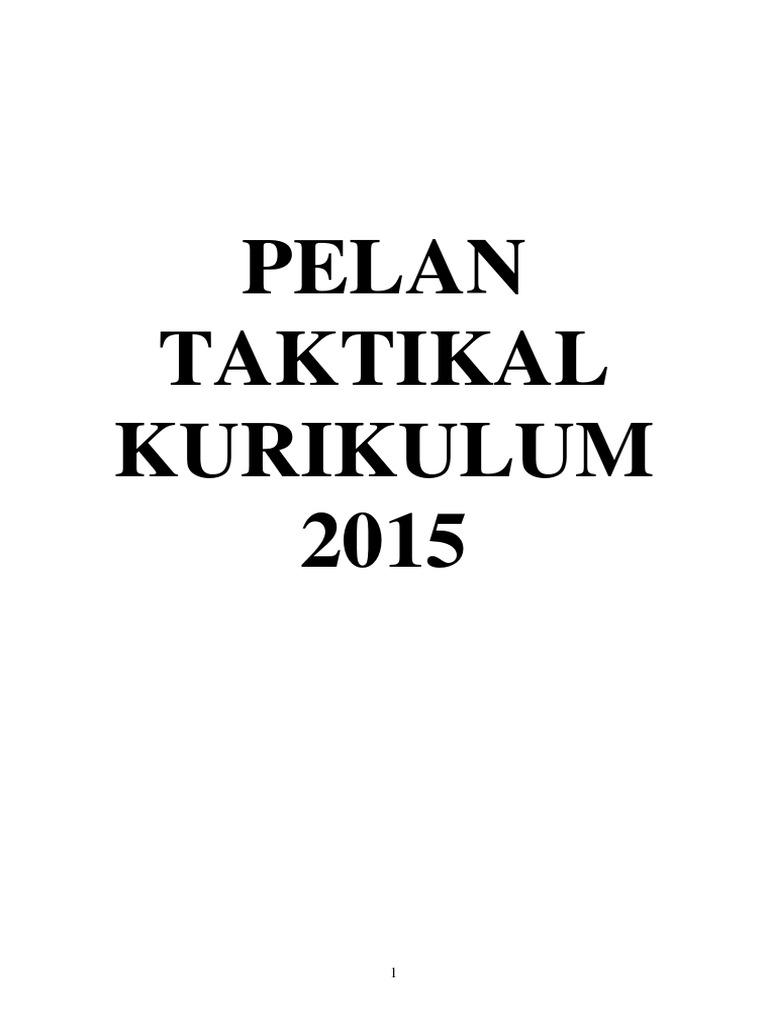Pelan Taktikal Panitia Geografi 2015 SMK Muhibbah
