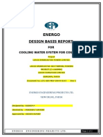 Design Basis Report of Cooling Water System for Coupling