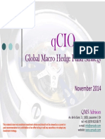 qCIO Global Macro Hedge Fund Strategy - November 2014