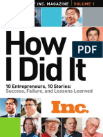 10 Entrepreneurs, 10 Stories