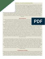 Electoral Reform-Toward Decriminalization