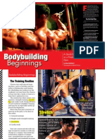Iron Magzine Bodybuilding Beginnings